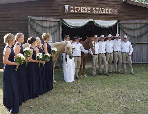 Magic carpet ride wedding